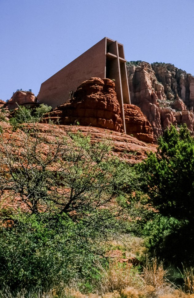 Free image of Chapel of the Holy Cross in Sedona. Arizona. USA