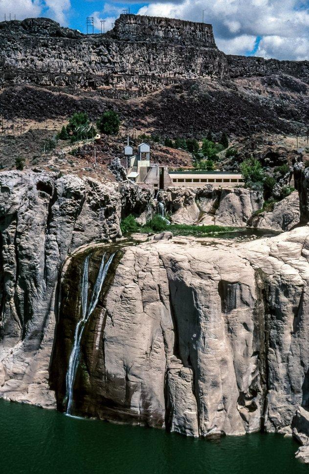 Free image of View Shoshone Falls Dam in Idaho