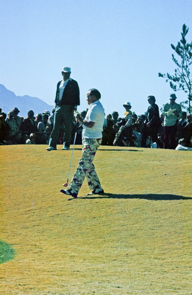 Free image of Bob Hope seen playing golf