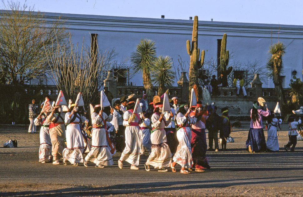 Free image of Celebrating  The Day of the Dead  at Mission San Xavier del Bac