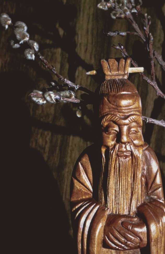Free image of Chinese Figurine Wood Statue
