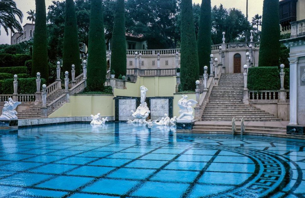 Free image of Neptune Pool in Hearst Castle, San Simeon, California