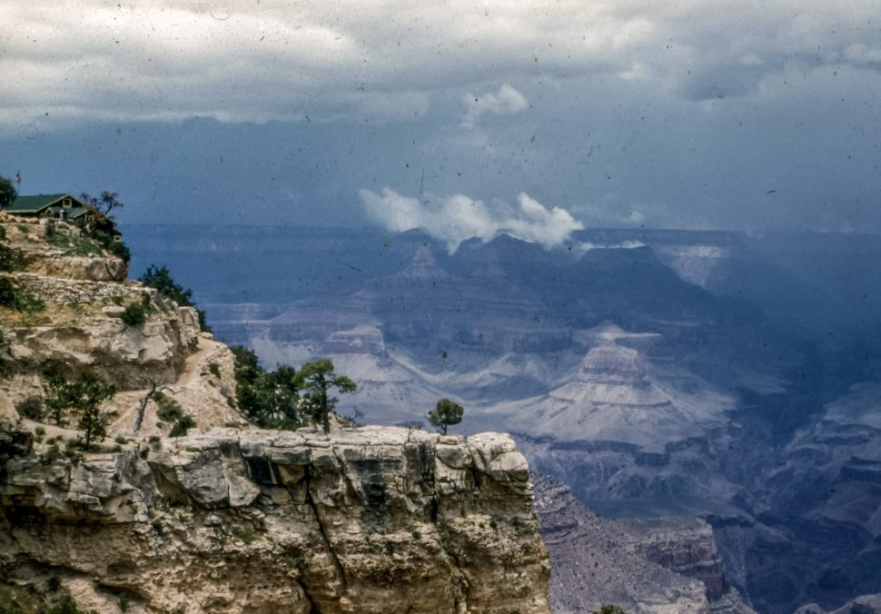 Free image of Clouds over Grand Canyon National Park, Arizona